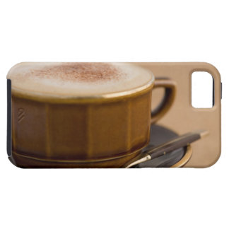 Cup of cappuccino with cocoa powder iPhone 5 cover