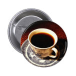 Cup Of Coffee 2 Inch Round Button