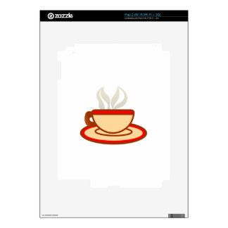 Cup Of Coffee Decal For iPad 2