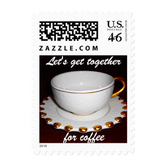 Cup of Coffee Get Together Stamp