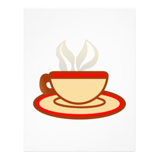 Cup Of Coffee Letterhead