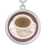 Cup of Coffee or Tea Necklace