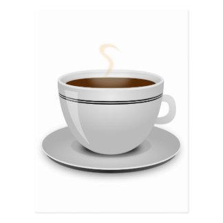 Cup Of Coffee Postcard