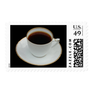 Cup of coffee stamp