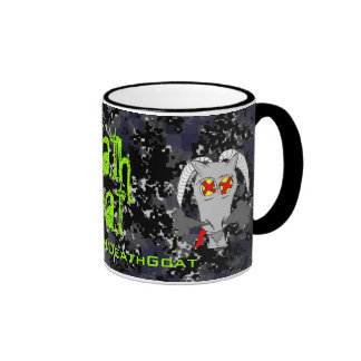 Cup of Death Goat Mugs