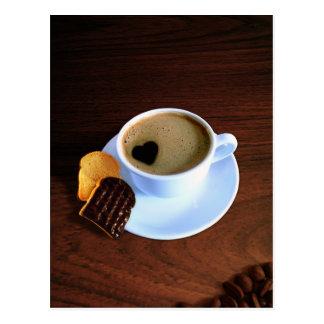 Cup Of Heart Coffee - Postcard