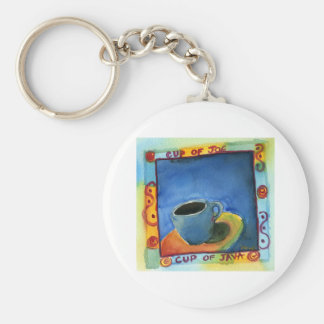 Cup of Java Cup of Joe Keychain