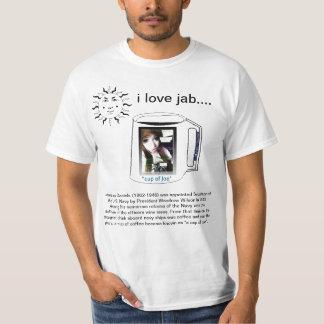 cup of joe and jab, t shirt