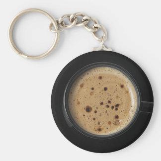 Cup of Joe Basic Round Button Keychain