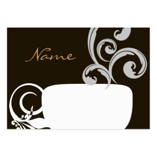 Cup Of Joe Card Large Business Cards (Pack Of 100)