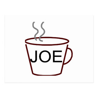 Cup of Joe Postcard