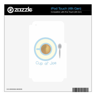 Cup Of Joe Decal For iPod Touch 4G