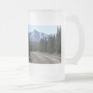 Cup of landscape in Alaska