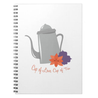 Cup of Love Notebook