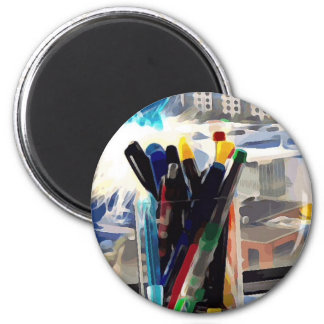 Cup of Pens Magnet