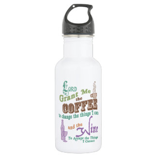 Cup of Serenity Stainless Steel Water Bottle