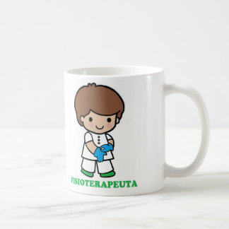Cup of small physiotherapist coffee mug