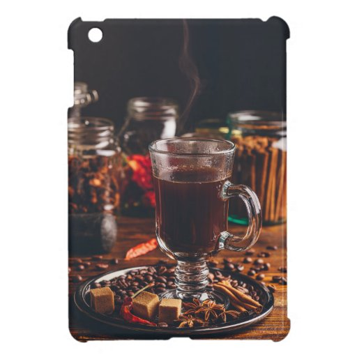 Cup of spiced turkish coffee case for the iPad mini