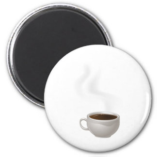 Cup of Steaming Coffee Magnets