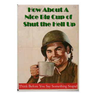 Cup of STHU Poster
