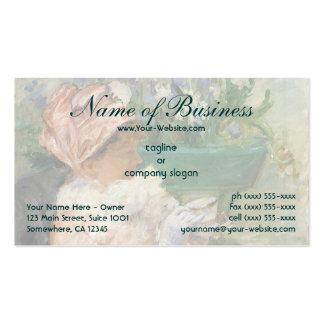 Cup of Tea by Mary Cassatt Business Card
