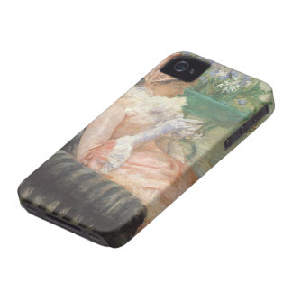 Cup of Tea by Mary Cassatt, Vintage Impressionism iPhone 4 Case-Mate Case