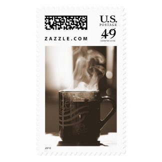 Cup of Tea Postage Stamp