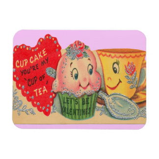 Cup of Tea Valentine Magnet