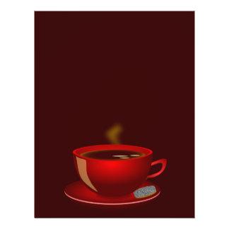 cup_of_tea_Vector_Clipart TEA COFFEE Red Mug Flyer