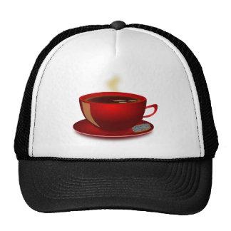 cup_of_tea_Vector_Clipart TEA COFFEE Red Mug Hats