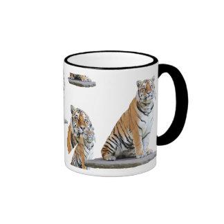 "Cup of ""tigers"" 01 ringer coffee mug"