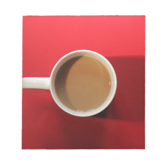 Cup or coffee note pad