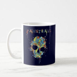 Cup Paintball Calavera - M2 Classic White Coffee Mug