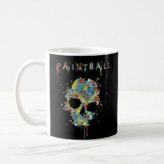 Cup Paintball Calavera - m3 Classic White Coffee Mug