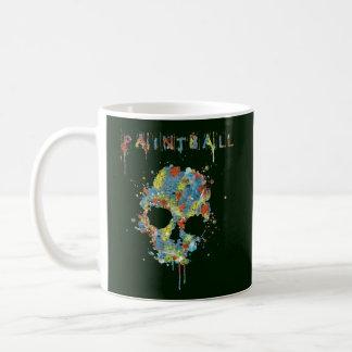 Cup Paintball Calavera - M4 Classic White Coffee Mug