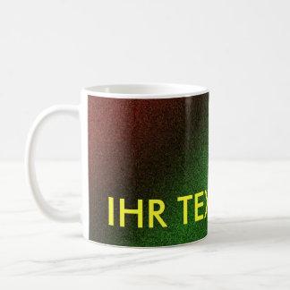 Cup rainbow multicolored classic white coffee mug
