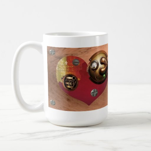 Cup San Valentin KnightHeart Collection Classic White Coffee Mug