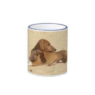 CUP Small Azawakh of the Sahel Ringer Coffee Mug