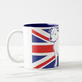CUP Staffbull UK Staffordshire Bullterrier Tazas