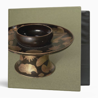 Cup stand with 'Nashiji' decoration 3 Ring Binder