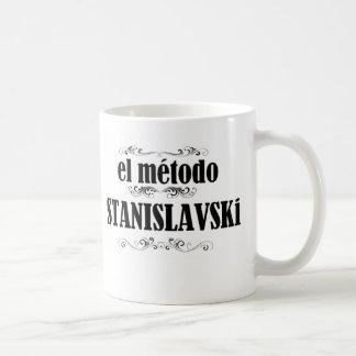 Cup Stanislavski Method Classic White Coffee Mug