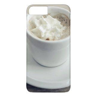 Cup Themed, A White Cup Of Sweet Foamy Espresso. U iPhone 8 Plus/7 Plus Case