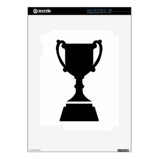 Cup trophy iPad 2 decal
