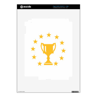 Cup trophy stars skins for the iPad 2