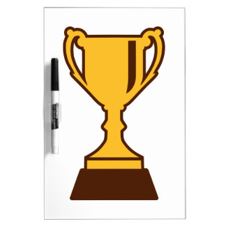 Cup trophy winner champion dry erase board
