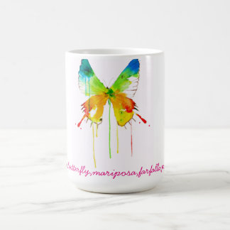 Cup with a butterfly