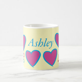 cup with Ashley name