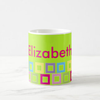 cup with Elizabeth name