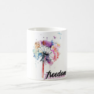 Cup with floral design