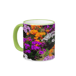 Cup with Flores Ringer Coffee Mug